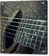 Rock Guitar Acrylic Print