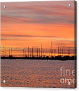Rock Hall Sunset II Acrylic Print