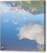 Rock Lake Alberta Canada And Willmore Wilderness Acrylic Print