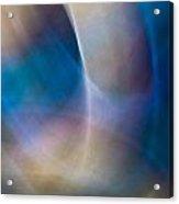 Rock Lightpaintings - Rainbow Fluorite I - 1 Of 4 Acrylic Print