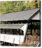 Rock Mill Covered Bridge Ohio Acrylic Print