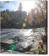 Rock Mountian Yosemite Acrylic Print