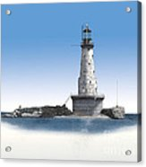 Rock Of Ages Lighthouse Acrylic Print