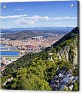 Rock Of Gibraltar Acrylic Print