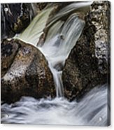 Rock Of Time Acrylic Print