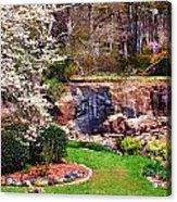 Rock Quarry Garden Acrylic Print
