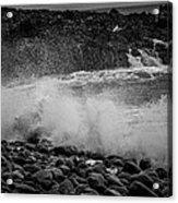 Rock Shore Acrylic Print
