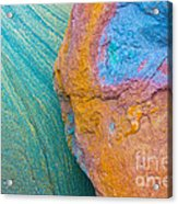 Rock Skin Acrylic Print