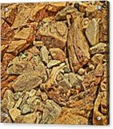 Rock Texture Acrylic Print