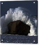 Rock V Wave II Acrylic Print