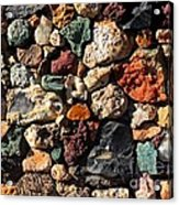 Rock Wall Acrylic Print