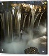 Rock Waterfall Acrylic Print
