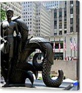 Rockefeller Plaza II Acrylic Print