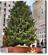 Rockefeller Tree Acrylic Print