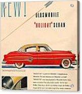 Rocket Oldsmobile Acrylic Print