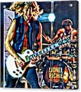 Rockin Guitarist Acrylic Print
