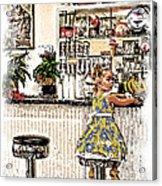 Rockin Robin's Soda Shop Acrylic Print