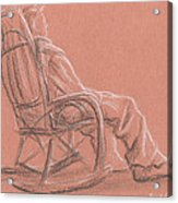 Rocking Chair Acrylic Print