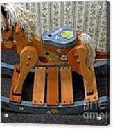 Rocking Horse Acrylic Print
