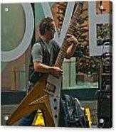 Rocking Times Square Acrylic Print