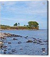Rockland Maine Coastline Acrylic Print