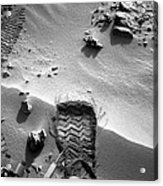 Rocknest Site, Mars, Curiosity Image Acrylic Print by Science Photo Library