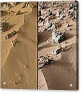 Rocknest Site, Mars, Curiosity Images Acrylic Print