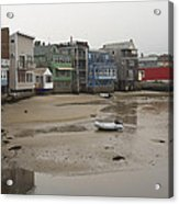 Rockport At Low Tide Acrylic Print