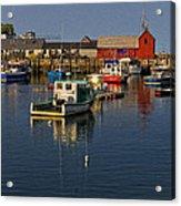 Rockport Harbor No.2 Acrylic Print