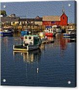 Rockport Harbor No.3 Acrylic Print