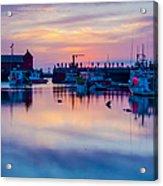 Rockport Harbor Sunrise Over Motif #1 Acrylic Print