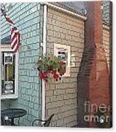 Rockport Streetscape Acrylic Print