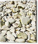Rocks Abstract Acrylic Print