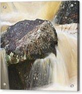 Rocks And Rapids #2 Acrylic Print