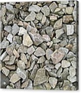 Rocks And Stones Texture Acrylic Print