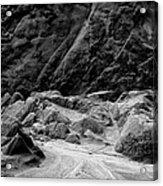 Rocks At Pt. Lobos Acrylic Print