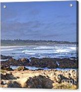 Rocks Before Beach Acrylic Print