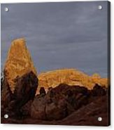 Rocks In Arches National Park Acrylic Print