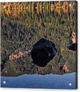 Rocks In Crescent Lake Acrylic Print