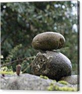 Rocks In The Garden Acrylic Print