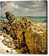Rocks Of Elafonisi Island Acrylic Print