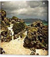Rocks Of Elafonisi Acrylic Print