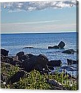 Rocks Of Lake Superior Acrylic Print