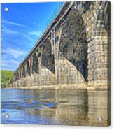 Rockville Bridge Acrylic Print