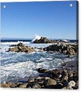 Rocky Beach On 17 Mile Drive Acrylic Print