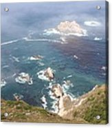 Rocky California Coast Acrylic Print