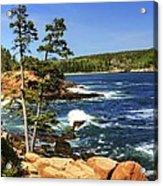 Rocky Coastline Acrylic Print