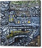 Rocky Cottage Acrylic Print