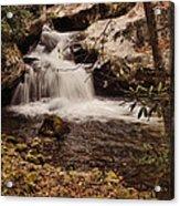 Rocky Fork Falls Acrylic Print