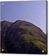 Rocky Hill In The Scottish Highlands Acrylic Print